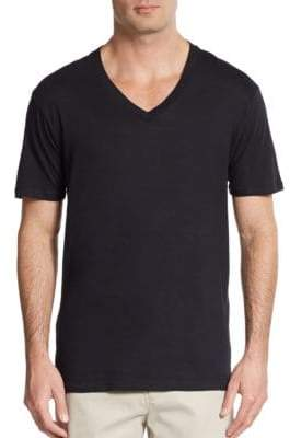 Saks Fifth Avenue V-Neck Tees, 3-Pack