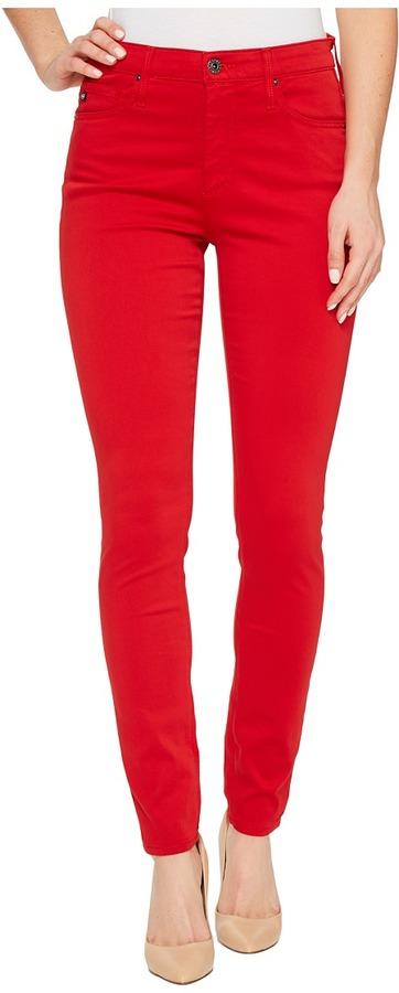 AG JeansAG Adriano Goldschmied - Farrah Ankle Skinny in Parisian Red Women's Jeans