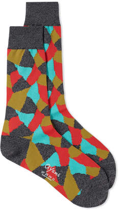 Ayame Socks Terracotta Sock