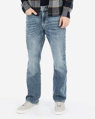 Express Classic Boot Light Wash Soft Cotton Stretch+ Jeans