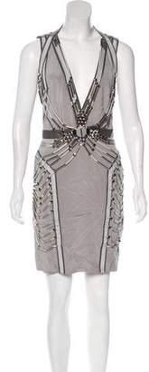 Gucci Embellished Sheath Dress