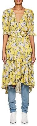 Icons Women's Ruffle Floral Wrap Dress