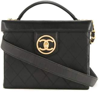 Chanel Pre-Owned CC 2way cosmetic bag