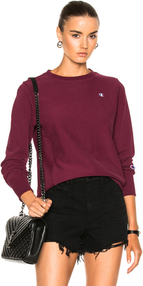 Champion Crewneck Sweatshirt $95 thestylecure.com