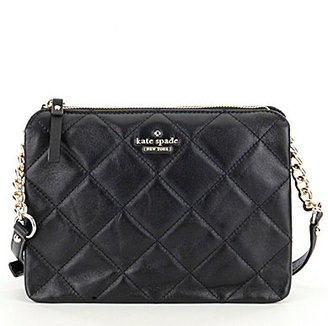 kate spade new york Emerson Place Harbor Quilted Cross-Body Bag $248 thestylecure.com