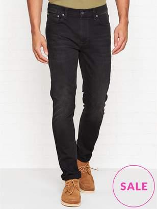 Nudie Jeans Lean Dean Slim Fit Jeans -Black Star