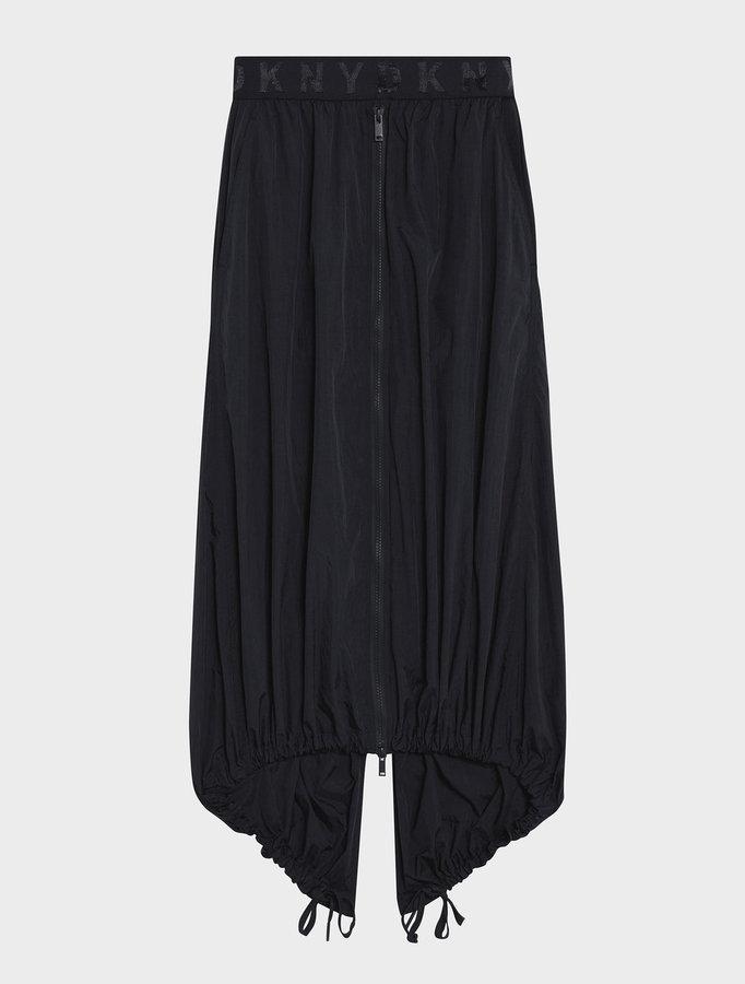 DKNYDkny Pure Fishtail Skirt With Elastic Logo Waistband
