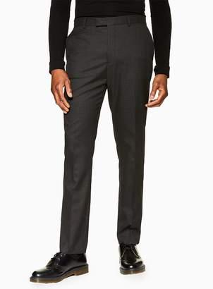 TopmanTopman Grey Dogtooth Slim Fit Suit Trousers