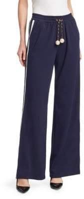 Beaded Stripe Sweatpants