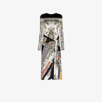 Mary Katrantzou Lewis floral print velvet dress