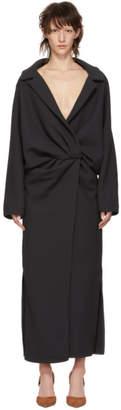 Jacquemus Grey Le Manteau Vaal Dress