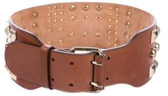Matthew Williamson Studded Leather Waist Belt