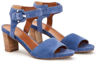 Aquatalia Brenna Waterproof Suede Sandal