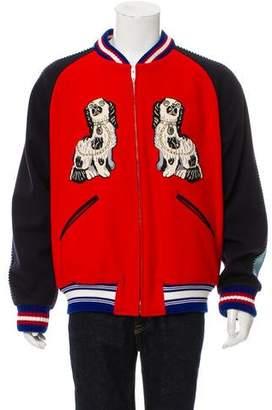 Gucci King Charles Spaniel Bomber Jacket