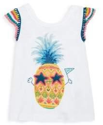 Hatley Toddler's, Little Girl's & Girl's Pineapple-Print Tee