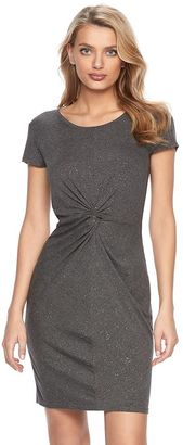 Women's Juicy Couture Glitter Twist T-Shirt Dress $54 thestylecure.com