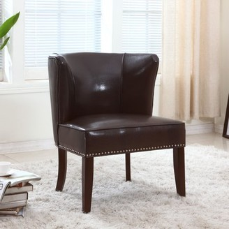 Best Master Furniture's Contemporary Faux Leather Living Room Accent Chair, Set of 2, Multiple Colors Available