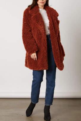 Cotton Candy Faux Fur Jacket