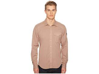 Belstaff Steadway Garment Dyed Twill Shirt Men's Clothing