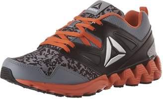 Reebok Kids Zigkick 2K17 Running Shoes, Asteroid Dust/Black/Carotene/Silver Metallic