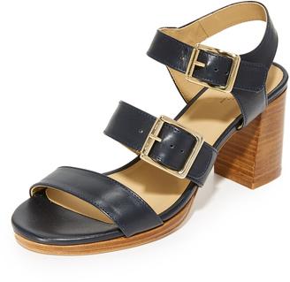 A.P.C. Betsey Sandals $455 thestylecure.com