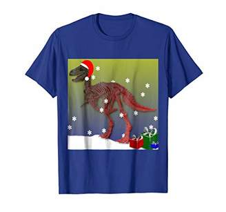 This Is My Christmas Dino T Rex Shirt Funny Christmas Tee