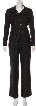 Akris Wool High-Rise Pantsuit