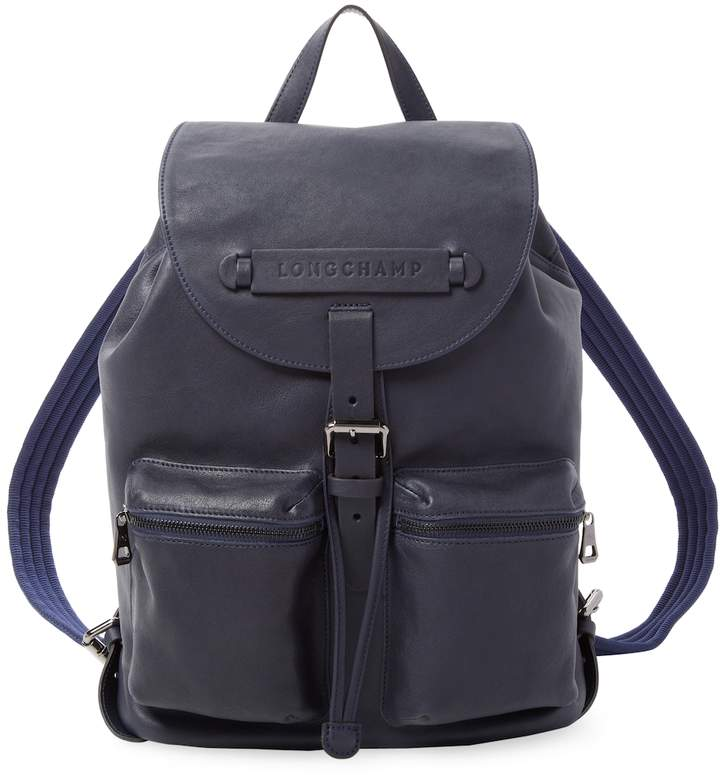 Longchamp Women's 3D Leather Backpack