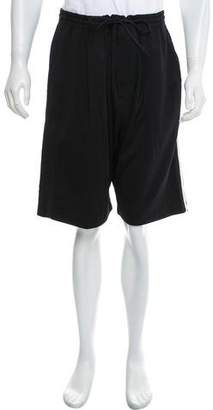 Y-3 Striped Athletic Shorts w/ Tags