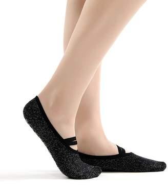 TuSocks Women's Ballet Grip Socks for Barre Pilates Yoga