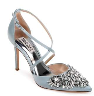 Badgley Mischka Harlene Embellished Pointy Toe Pump