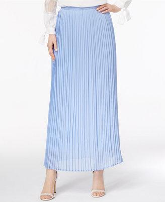 Cupio Pleated Maxi Skirt $60 thestylecure.com