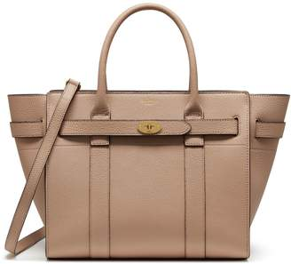 Mulberry Small Zipped Bayswater Rosewater Small Classic Grain