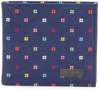 fe-fe polka dot billfold wallet
