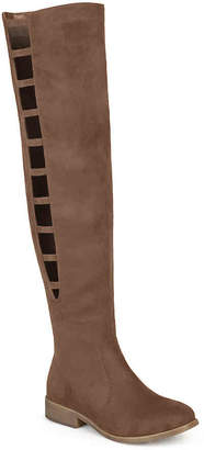 Journee Collection Pitch Wide Calf Thigh High Boot - Women's
