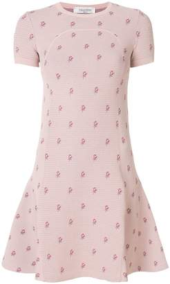 Valentino Petites Roses knit dress
