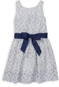 Ralph Lauren Girl's Fit-&-Flare Dress