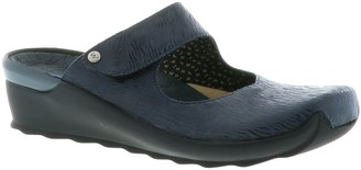 Wolky Leather Clogs - Up