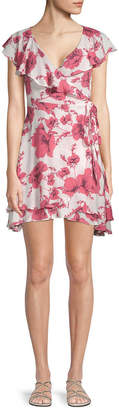 Free People French Quarter Floral Mini Dress