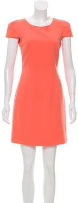 Tibi Open-Back Mini Dress