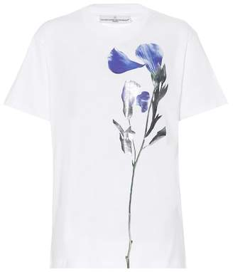 Golden Goose Floral-printed cotton T-shirt