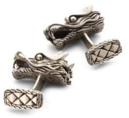 John Hardy Naga Dragon Head Cuff Links