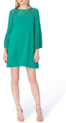 Women's Tahari Long Sleeve Shift Dress $134 thestylecure.com