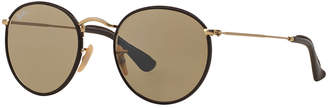 Ray-Ban Round Craft Sunglasses, RB3475Q $200 thestylecure.com