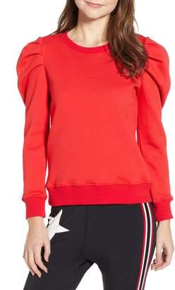 Pam & Gela Puff Sleeve Sweatshirt