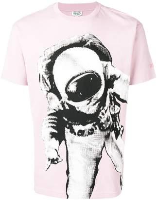 Kenzo astronaut print T-shirt