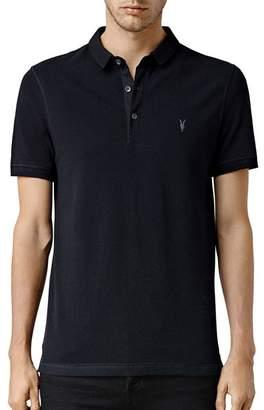 AllSaints Reform Slim Fit Polo Shirt