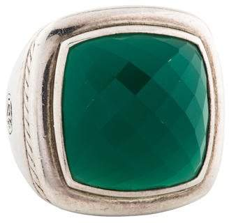 David Yurman Green Onyx Albion Ring