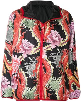 P.A.R.O.S.H. Chinese floral print jacket