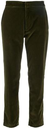 Barena velvet cropped trousers